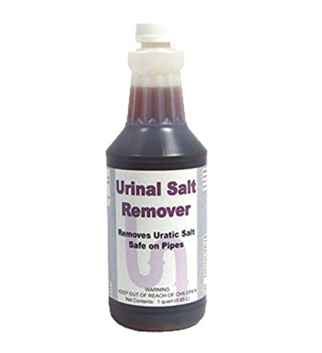 DETCO-Urinal Salt Remover Concentrate | Safe on Pipes & Plumbing - Controls Odors - Cleans Rust, Scale, and Uratic Salt Build-Up - 1 Quart