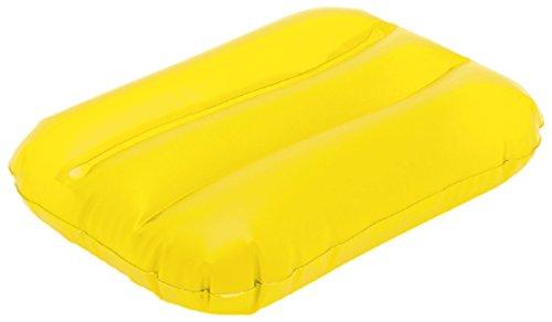 Flotador inflable para la playa., amarillo