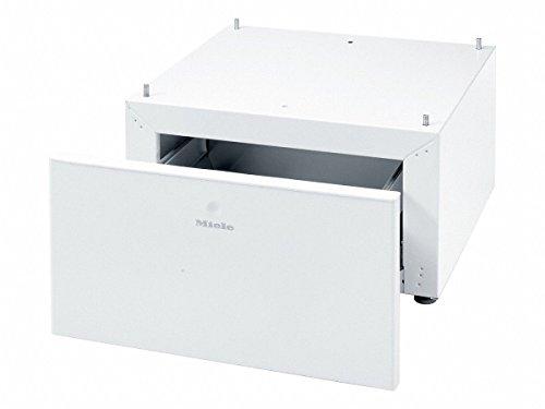 Miele Original Zubehör WTS 510 Unterbausockel / integrierte Schublade / für Waschmaschinen und Trockner / Höhe: 35 cm / Lotosweiß