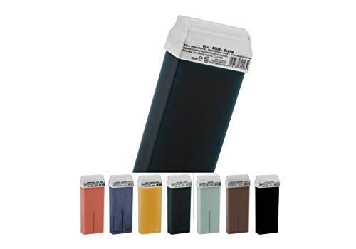 déliktess® - 12 cartouches de cire pour épilation - Roll on au choix - Cire à épiler professionnelle sans colophane (azulène)