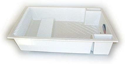 4 Fundas, Polipropileno Color Blanco Denox 11010.050 Organizador de Cubiertos