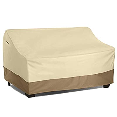 Vanteriam Outdoor Patio Furniture Lounge Chair/Club Chair Cover, Durable and Waterproof Large Covers for Outdoor Furniture Single Sofa …