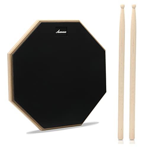 """Asmuse Drum Practice Pad 12"""" de Práctica..."""