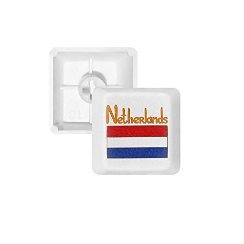 DIYthinker Nederland Nationale Vlag Patroon PBT Keycaps voor Mechanisch Toetsenbord Wit OEM Geen Markering Print, R2, Multi kleuren