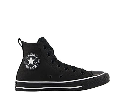 Converse Chuck Taylor All Star - Hi - Negro/Negro/Blanco Textil sintético