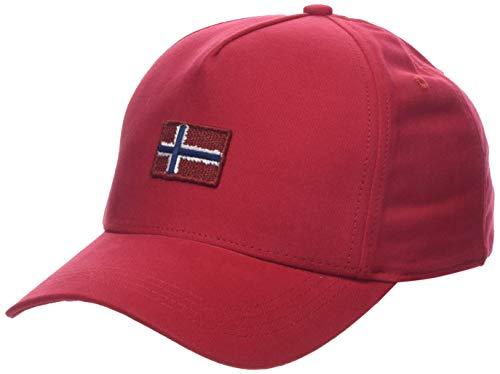 Napapijri Herren Flagstaff Baskenmütze, Rot (True Red R70), One Size (Herstellergröße: D)