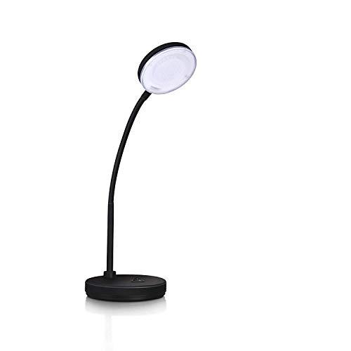 Philips Vector Study Lamp LED Desk Light(25.5 cm, Black) (Cool White)- Flexible gooseneck