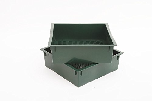 Buy Discount Worm Factory Additional Composting Bin Trays Green (Pack of 2)