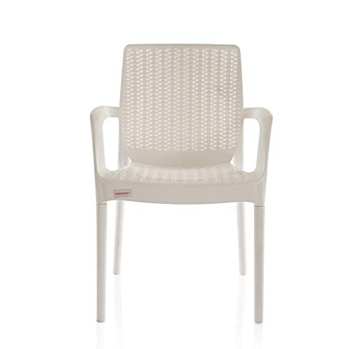 Varmora Esquire Heavy Plastic Chair (White)(1)