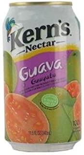 Kern's Nectar Guava (Pack of Six Cans)