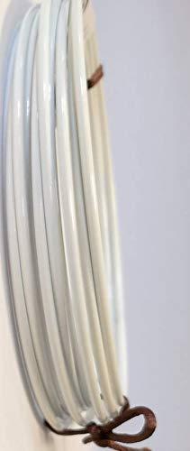 Drahtring Efco Lot de 10 Anneaux métalliques pour Enrouler ou Attrape-rêves 10 cm Blanc