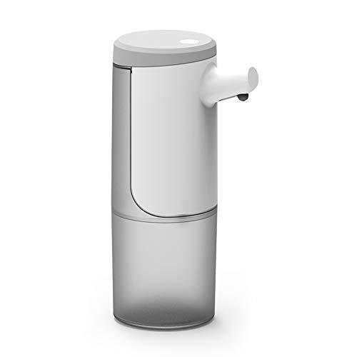 Haude - Dispenser di sapone automatico da 450 ml, dispenser di sapone senza perfezione, dispenser di sapone elettronico per mani libere USB gel
