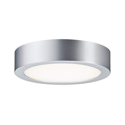 Paulmann 703.88 WallCeiling Orbit LED-Panel 200mm 11W 230V Chrom matt/Weiß Kunststoff 70388 Deckenaufbauleuchte Deckenleuchte Deckenlampe