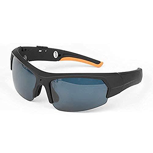 Draulic Tragbare Bluetooth-Sonnenbrille 1080p Kamerabrille Mini DV 1080P HD-Videorecorderbrille Bluetooth-Kopfhörer Freisprechbrille Sportbrille Fahrradbrille