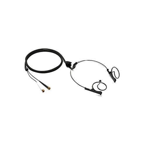 DPA Microphones 4560 CORE Binaural Headset, Normal SPL, Black, MicroDot