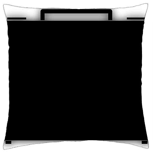Funda de almohada, maletín, maleta, viaje, viaje, viaje, funda de cojín de moda, para tren, avión, dormir, 45 x 45 cm