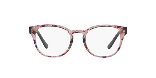 Ray-Ban 0VO5272 Monturas de Gafas, Text Stripes Oran Blk/Red Trgr, 49 para Mujer