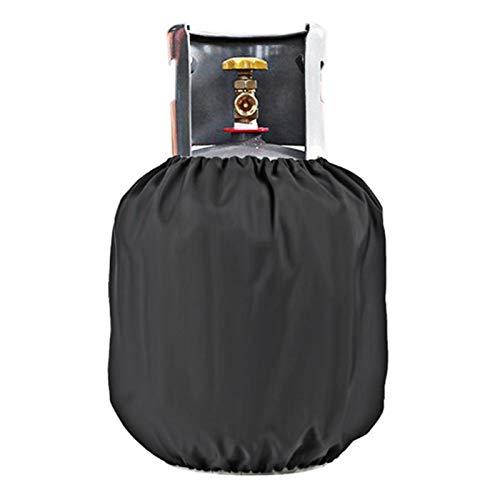 DAUERHAFT Funda de Tanque de Gasolina Negra Anti-UV, Adecuada para Acampar al Aire Libre, Picnic o Barbacoa