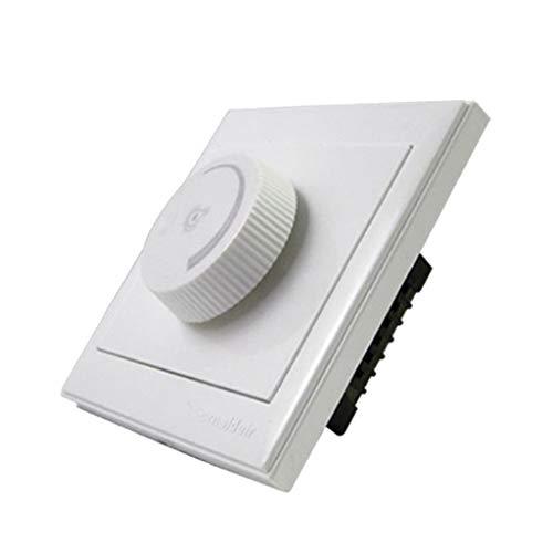 Interruptor de Pared Encendido Y Apagado Decorativo Casero de La CA 220V para La Iluminación Del Ventilador de Techo