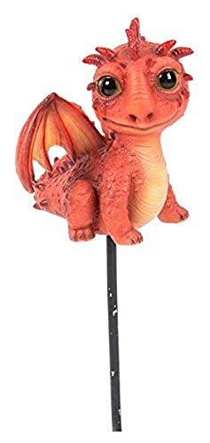 Levendige kunsten-Dragon Plant Pal- Rode Spike Staart Draak