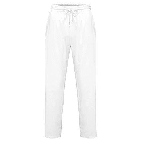 Men's Summer And Pure and Sport Pants Men Sportswear White