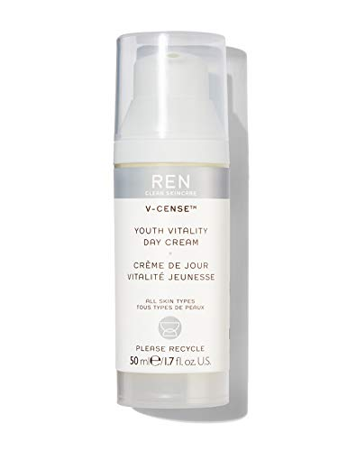 REN Clean Skincare V-cense Youth Vitality Day Cream, 1.7 Fl Oz