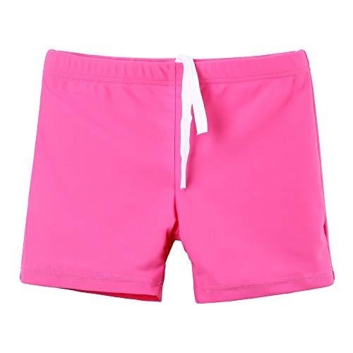 HUAANIUE Badehose Shorts Hose Bademode Mädchen Jungen Sonnenschutzkleidung UV-Schutz Schwimmübung Badebekleidung für Kinder Strandkleidung 7-8 Jahre