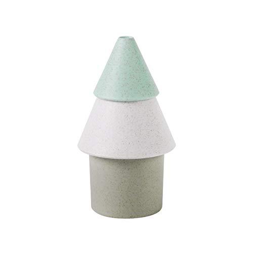 Mini humidificador de Aire portátil, USB Mute Spray Grande Atomizador de árbol de Navidad Hogar Escritorio Oficina Purificador de Coche (Color : Green)