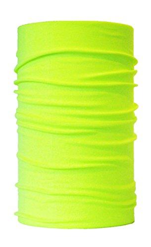 HeadLOOP Multifunktionstuch NEON GELB Schal Halstuch Kopftuch Mikrofaser (Yellow-Neon)