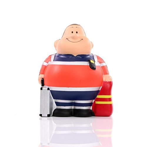Herr Bert® Rettungssanitäter Bert - Stressball Knautschfigur Anti-Stress Beschäftigung Stressbewältigung Geschenk Kollegen