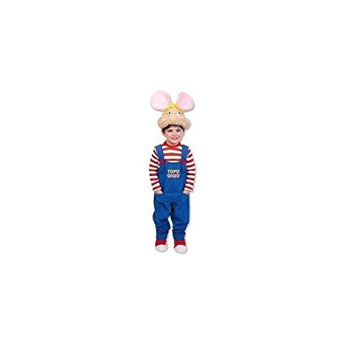 Costume Topo Gigio - Giochi Preziosi-taglia III,7/8 anni