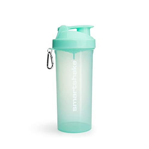 Smartshake LITE, 33 oz Shaker Cup, Aqua Green (Packaging May Vary)