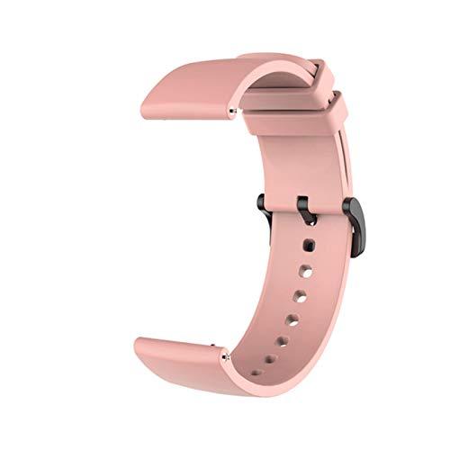 Correa de muñeca de silicona para Xiaomi Amazfit GTR 42MM GTS, accesorios de pulsera en mi Xiomi mi, correa de reloj inteligente, correas de cuero