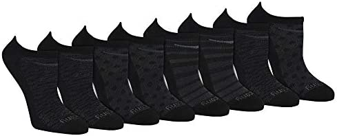 Saucony Women s Performance Super Lite No Show Athletic Running Socks Multipack Black Fashion product image