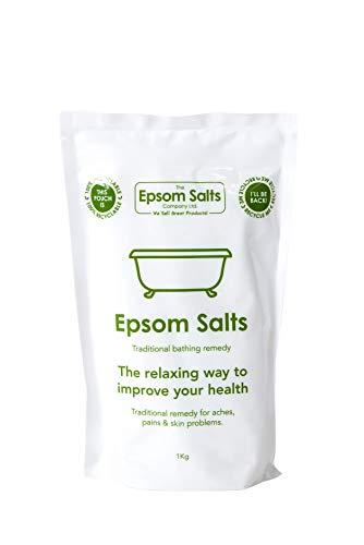 Epsom Salts Medical Grade Resealable Pack, 1 kg