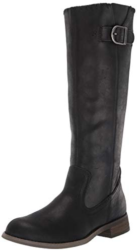 HARLEY-DAVIDSON FOOTWEAR Women's Keyser Fashion Boot, Black, 10 M US