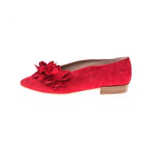 Donna Carolina 37.300.102-005 Rosso Der Damenballerina
