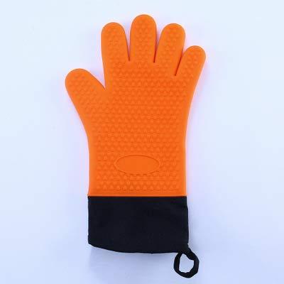 LLDKA Handschoenen Thuis Aangenaam op de huid Siliconen Oven Handschoenen outdoor barbecue Handschoenen Oven Mitt Keuken Gereedschap Solid Geschikt