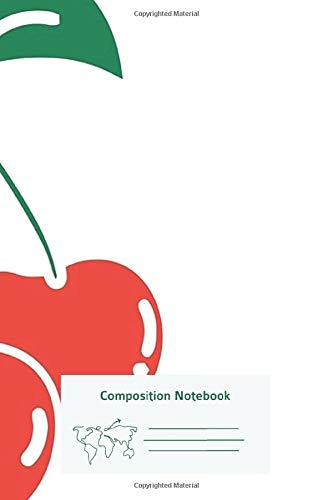 Composition Notebook: Tumblr Cherry Primary Composition Notebook Story Journal