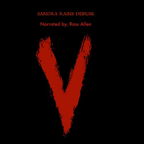 V audiobook cover art