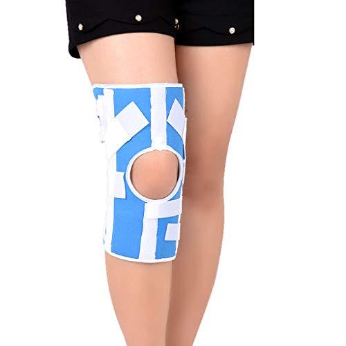 RUIVE Rodillera Deportiva, Rodillera Protectora de rótula y ligamentos, estabilizador Ajustable para traumatismos Deportivos, esguinces, Artritis, Lesiones de ligamentos, para Adultos