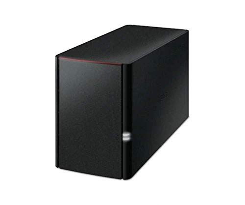 Buffalo LS220D0802-EU LinkStation 220 NAS-System 8TB (2X 4TB HDD, 1x Gigabit RAID 0/1, SATA)