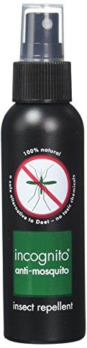 Incognito INCSPRAY01 - Spray antimosquitos natural sin DEET, transparente