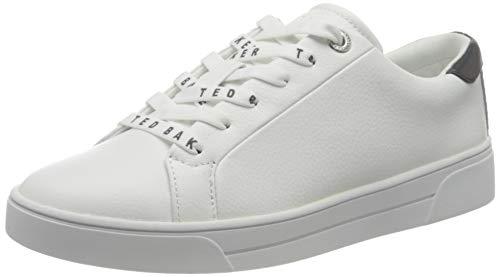 Ted Baker London Women's MERATA Sneaker, White Grey, 8