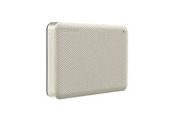 Toshiba Canvio Advance 4TB Portable External Hard Drive USB 3.0 White - HDTCA40XW3CA