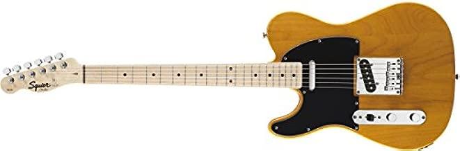 Squier by Fender Affinity Telecaster Beginner Electric Guitar - Left Handed -Maple Fingerboard, Butterscotch Blonde