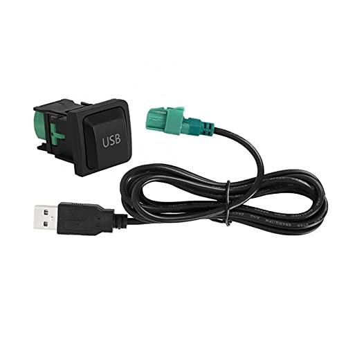 RJJX Adaptador de Audio del Reproductor de Reproductor de CD de CD de CD de 12V Ajustar Adaptador de Audio Bluetooth para VW RCD510 RNS315, RNS310, RCD030, RCD300, RCD310