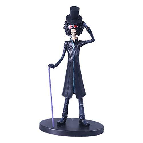 YUEDAI Una Pieza Modelo Animado, Modelo Brooke Estatua, Servicio de decoración, 23cm