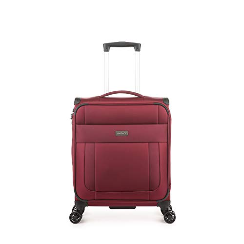 Antler Translite Soft Shell Cabin Suitcase | Carry On Luggage | Hand Luggage for Women/Men | Cabin Size Suitcases with Wheels | Lightweight Luggage | Small Suitcase | Spinner Case