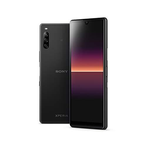 Sony Xperia L4 - Teléfono móvil 21:9 de 6.2' (Display HD, Triple cámara, Android 9, Libre, 3 GB RAM, 64 GB de Almacenamiento), Negro